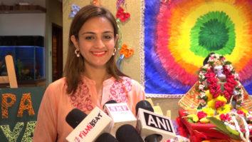 Actress Shweta Rohira's Ganpati Aarti and Puja