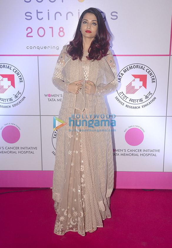 Aishwarya Rai Bachchan in Tarun Tahiliani for a Breast Cancer Awaress Initiative (2)