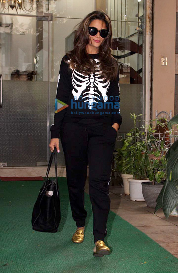 Amrita Arora spotted at a salon