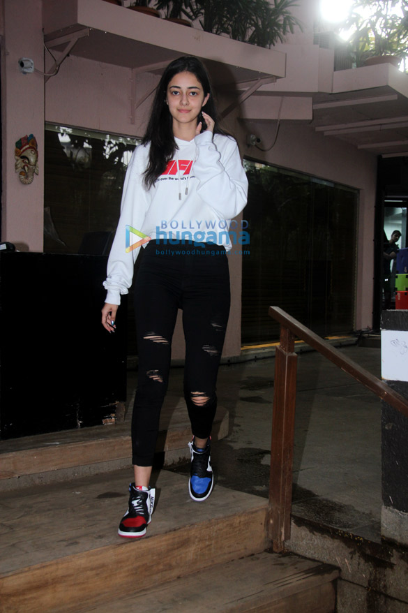 Ananya Pandey spotted in Bandra
