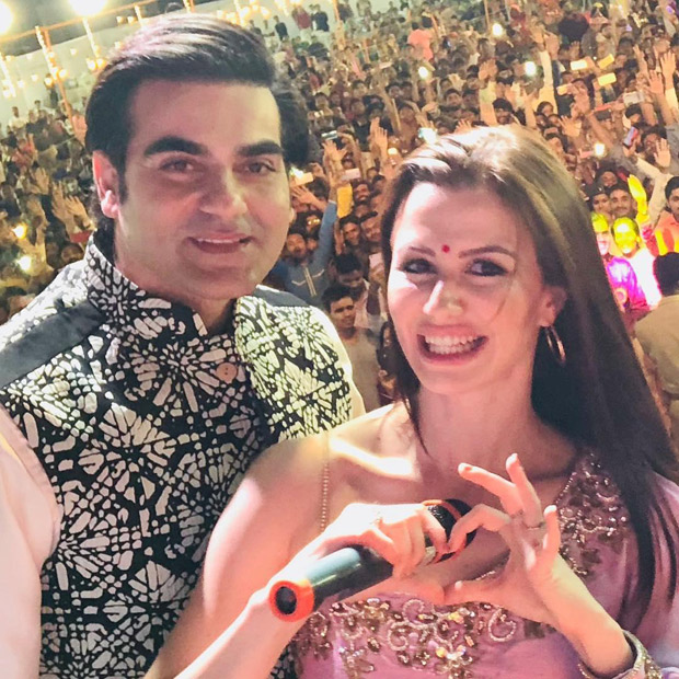 Arbaaz Khan and girlfriend Giorgia Andriani celebrate Navratri together and here's proof!