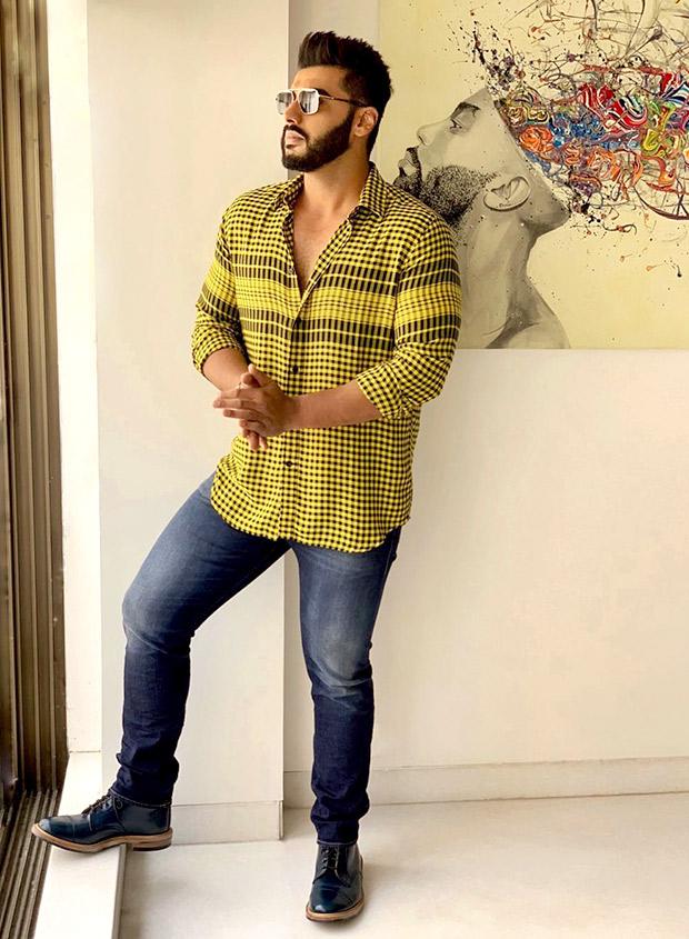 Slay or Nay: Arjun Kapoor in Diesel for Namaste England promotions