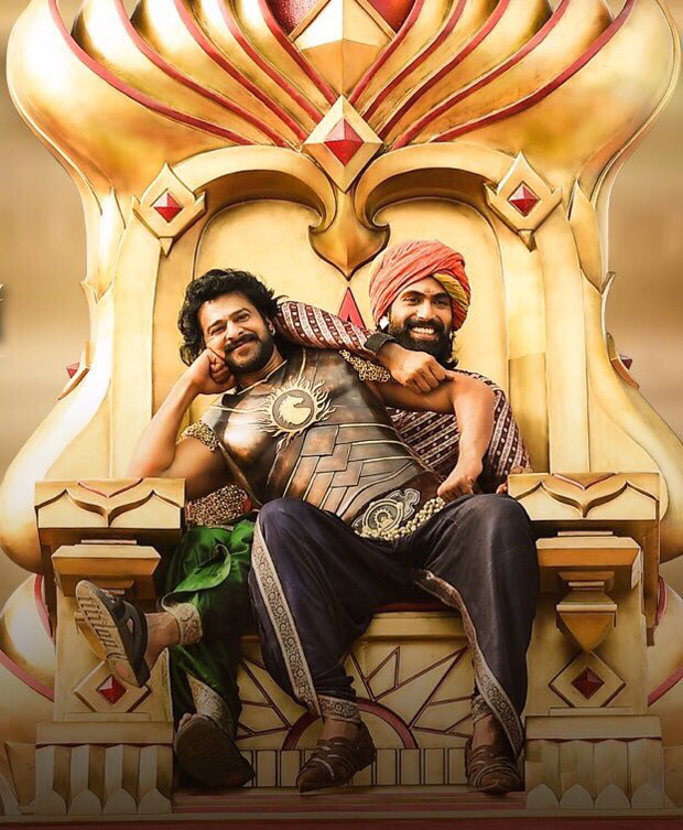 Bhallaladeva Rana Daggubati shares a THROWBACK picture with Baahubali Prabhas and it is the best thing on the internet