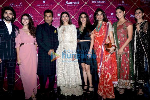 Celebs grace the Shaadi By Marriott fashion show