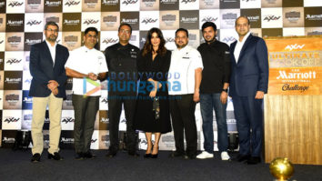 Chitrangda Singh grace the launch of the new reality show by AXN and Marriott International Inc