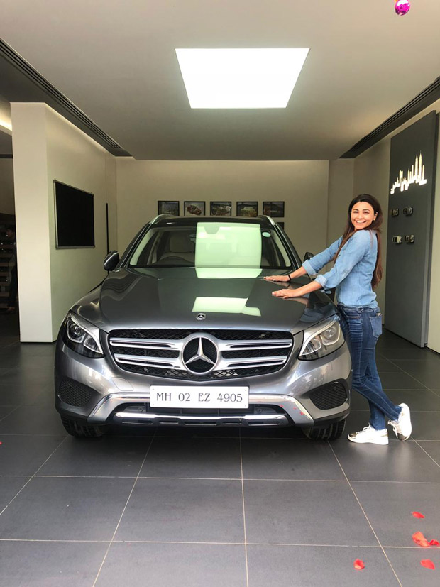 Daisy Shah gets her first swanky new car Mercedes GLC 200