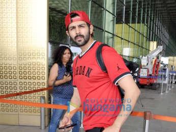 Deepika Padukone, Kartik Aaryan and others snapped at the airport