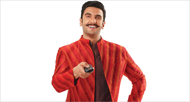 Dish TV appoints Ranveer Singh as its new brand ambassador ahead of festive season