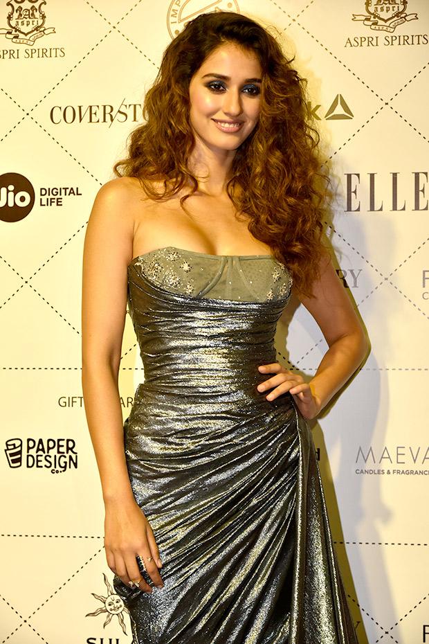 Disha Patani in Hamda Al Fahim for Elle Beauty Awards 2018 (2)
