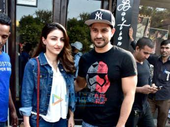 Ekta Kapoor, Konkona Sen Sharma and other celebs snapped at Bastain in Bandra