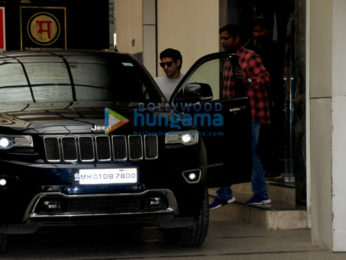 Farhan Akhtar spotted at the gym in Bandra