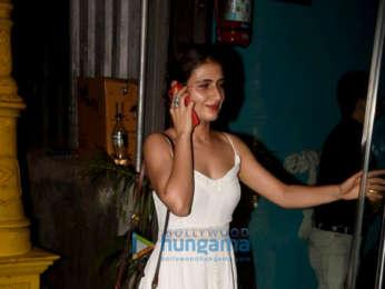 Fatima Sana Shaikh snapped at Silver Beach Cafe in Juhu