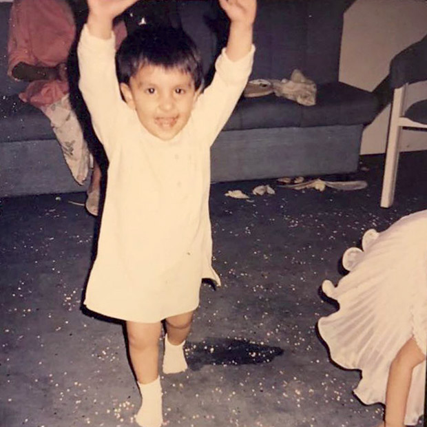 Flashback Friday: Ranveer Singh is a carefree toddler in this childhood photo and its adorable