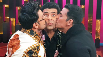 Koffee With Karan 6: Akshay Kumar and Ranveer Singh KISS Karan Johar