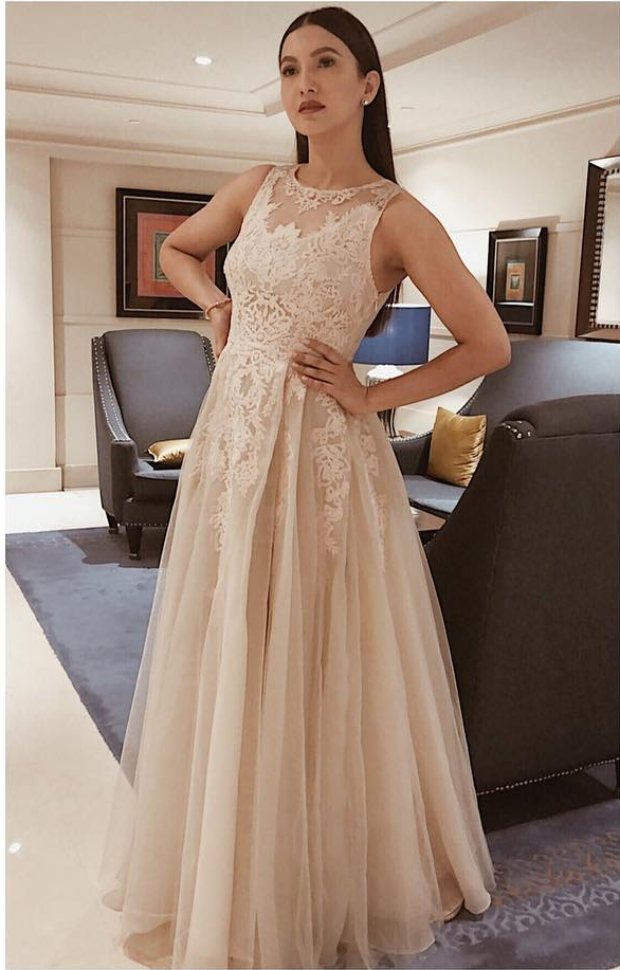 Slay or Nay: Gauahar Khan in Geisha Designs for an event in the city