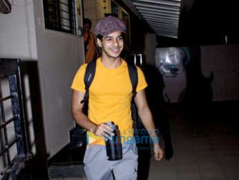 Ishaan Khatter snapped at the Matrix office in Bandra