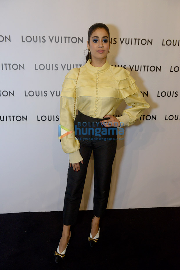 Janhvi Kapoor in LV at LV store launch in Delhi (5)