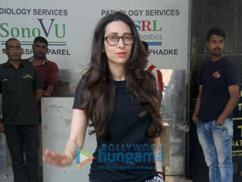 Karisma Kapoor spotted at clinic