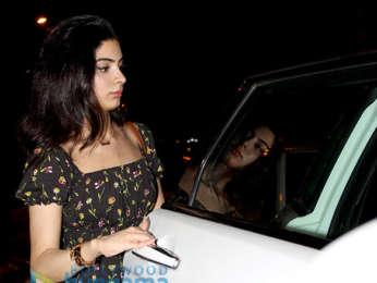 Khushi Kapoor spotted at Olive