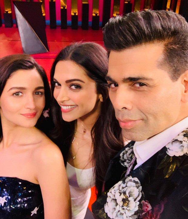 Koffee With Karan 6 Karan Johar brings together Bollywood's powerful leading ladies Deepika Padukone and Alia Bhatt for season opener