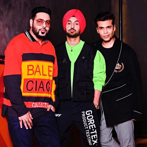 Koffee With Karan 6: Punjab sensations Diljit Dosanjh and Badshah make the debut on Karan Johar's chat show