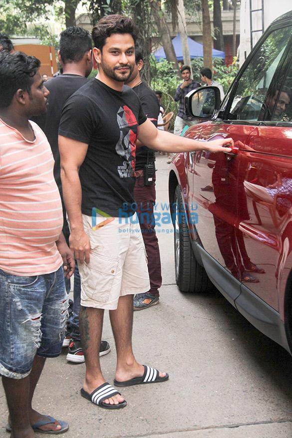 Kunal Khemu and Manyata Dutt snapped in Bandra