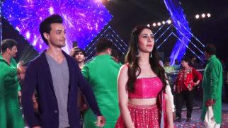 Loveyatri Actor Aayush Sharma & Warina Hussain Celebrating Navratri
