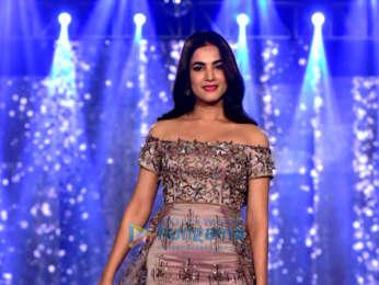 Malaika Arora and Sonal Chauhan walks the ramp at the Wedding Junction fashion show