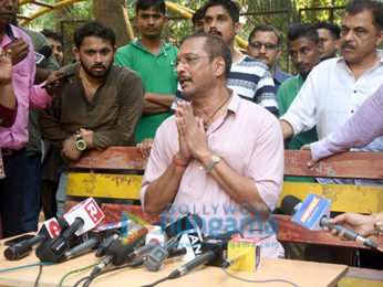 Nana Patekar addresses a press meet