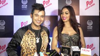 POP Culture Celebrity Night Arshi Khan & Aditya Singh Rajput