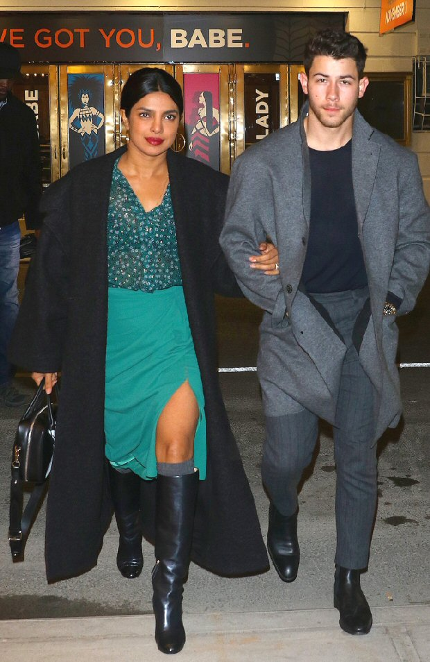 Priyanka Chopra and fiancé Nick Jonas enjoy date night at a Broadway musical; shares a candid moment of Nick bonding with her nephew