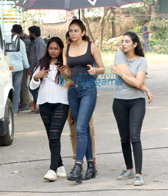 Rakul Preet Singh spotted at Filmcity in Goregaon