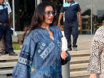 Rani Mukerji snapped with her friends at BKC