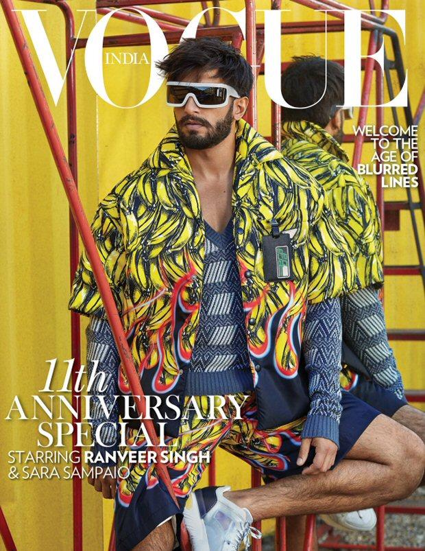 Ranveer Singh cheers for dilution of Article 377 in Vogue shoot!