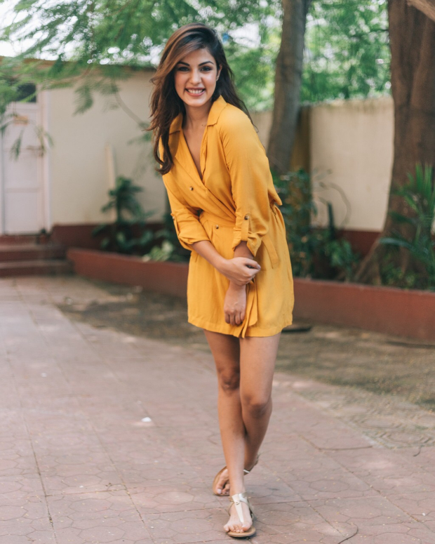 Rhea Chakraborty in Only x Harry Potter (2)