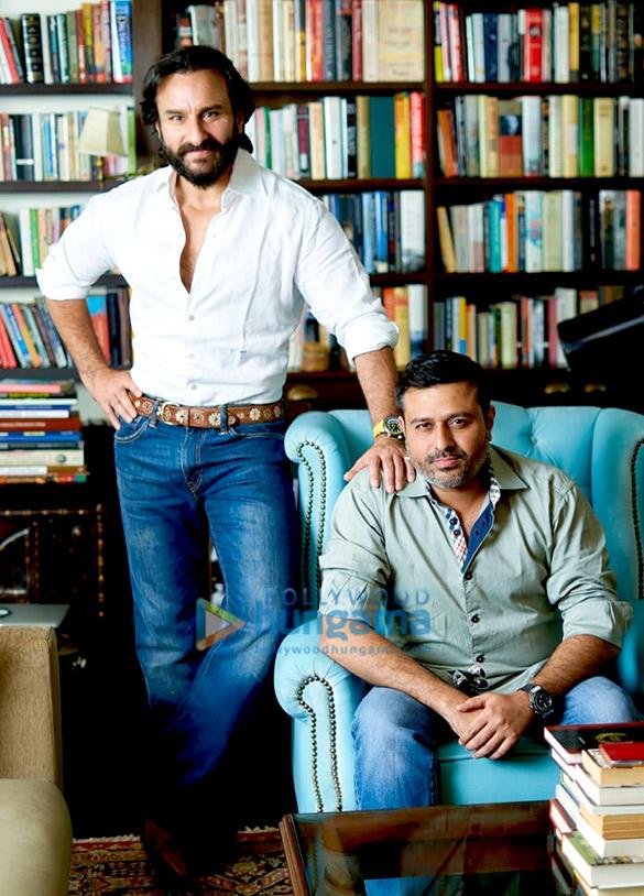 Saif Ali Khan launches his new banner Black Knight Films, signs director Nitin Kakkar