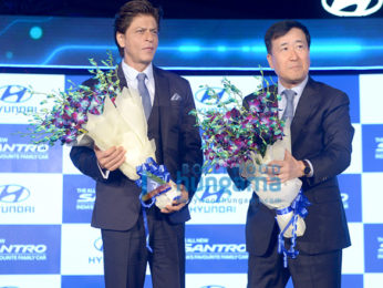 Shah Rukh Khan graces the launch of the new Santro