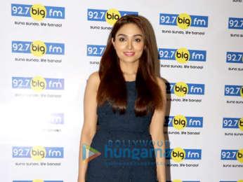 Sharman Joshi and Aishwarya Devan snapped at the 92.7 Big FM office