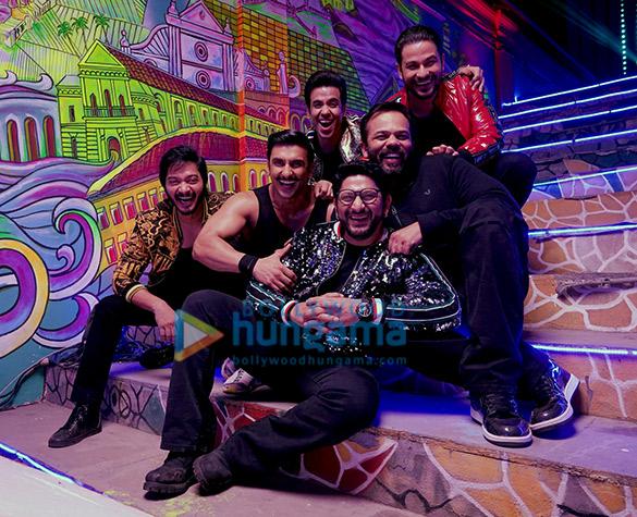 Golmaal meets Simmba: Ranveer Singh and Sara Ali Khan shoot a peppy number with Tusshar Kapoor, Arshad Warsi, Shreyas Talpade and Kunal Kemmu