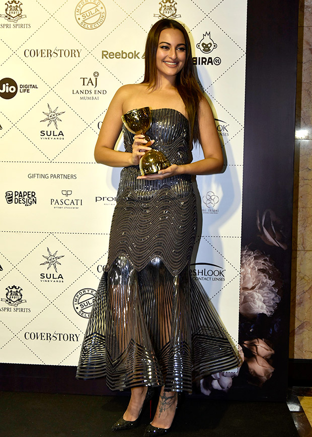 Sonakshi Sinha in Amit Aggarwal for Elle Beauty Awards 2018 (1)
