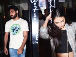 Sunil Shetty's daughter Athiya Shetty spotted @Bastian Bandra
