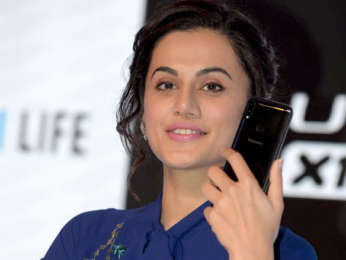 Taapsee Pannu attends the launch of Panasonic Mobiles
