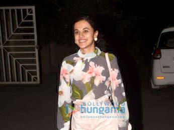 Taapsee Pannu snapped in Juhu