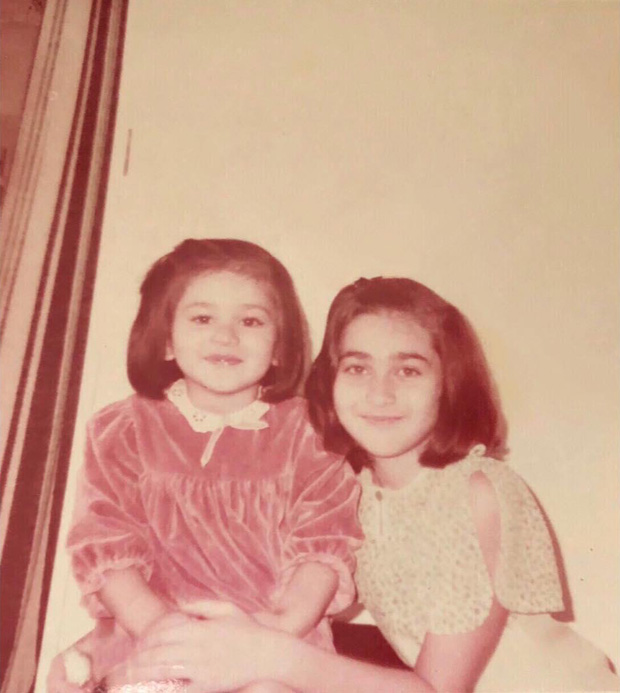 Throwback to Childhood! Karishma Kapoor shares her 'twinning' picture with Kareena Kapoor Khan and it is the cutest thing ever
