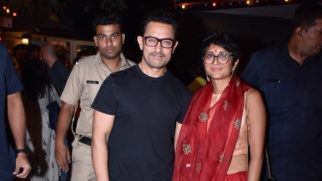 Aamir Khan spotted at Prithvi Theatre