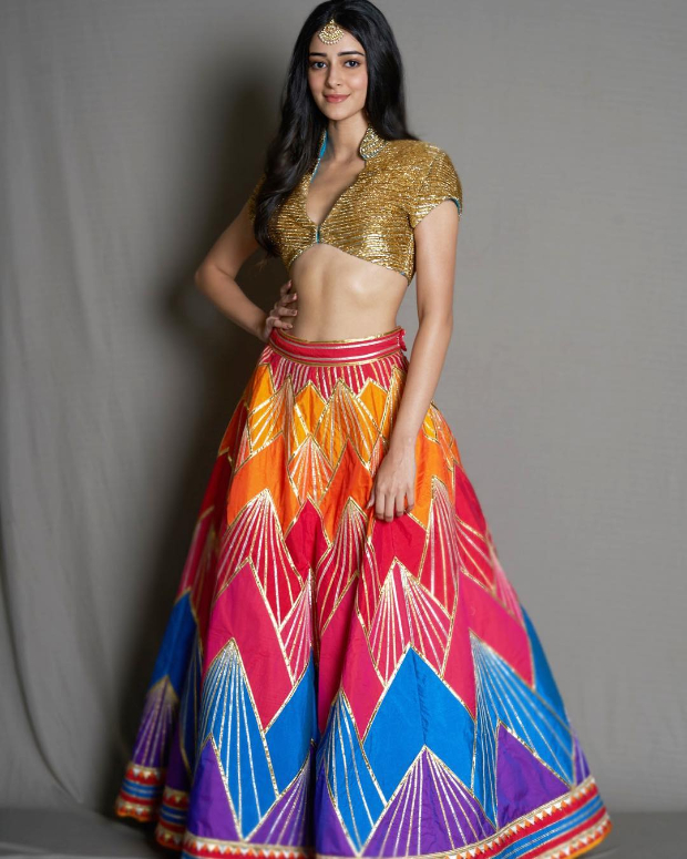 Ananya Panday in Abu Jani - Sandeep Khosla for Diwali 2018 bash (1)