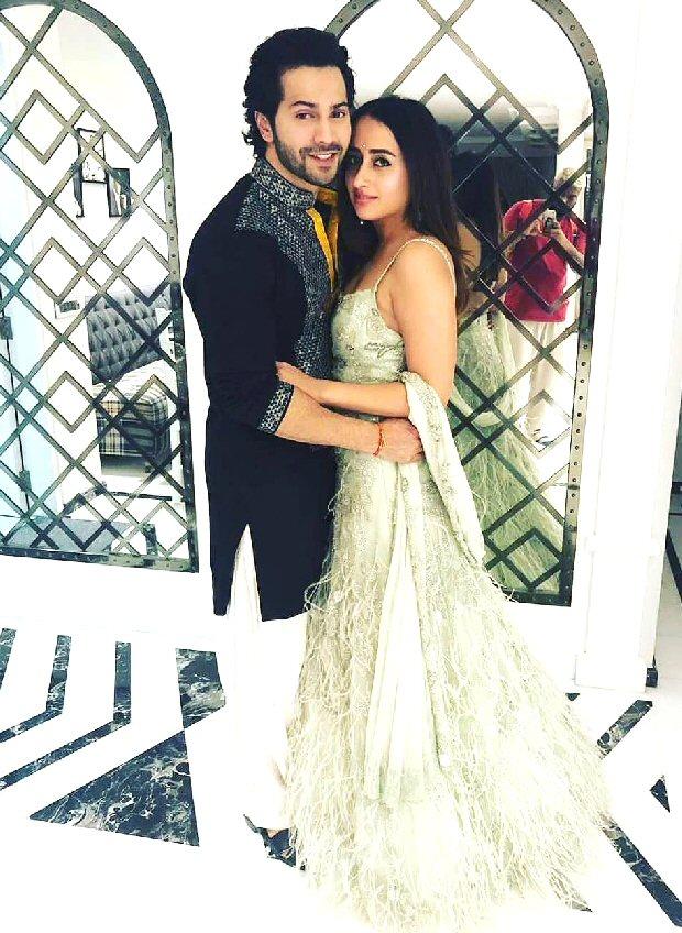 Diwali 2018 Varun Dhawan rings in festivities with girlfriend Natasha Dalal