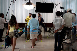 On The Sets Of The Movie Dostana