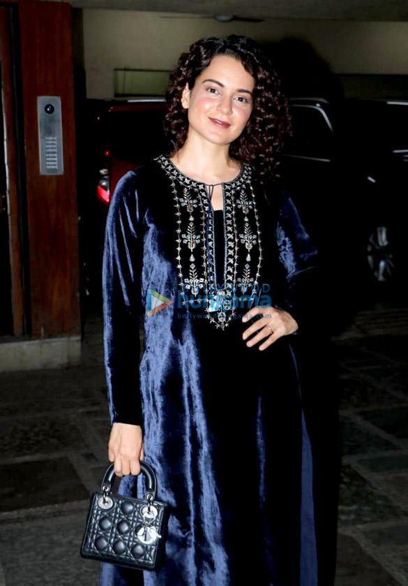 Kangana Rananut in Anita Dongre for a birthday bash (2)