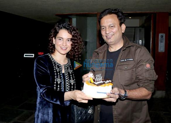Kangana Rananut in Anita Dongre for a birthday bash (3)